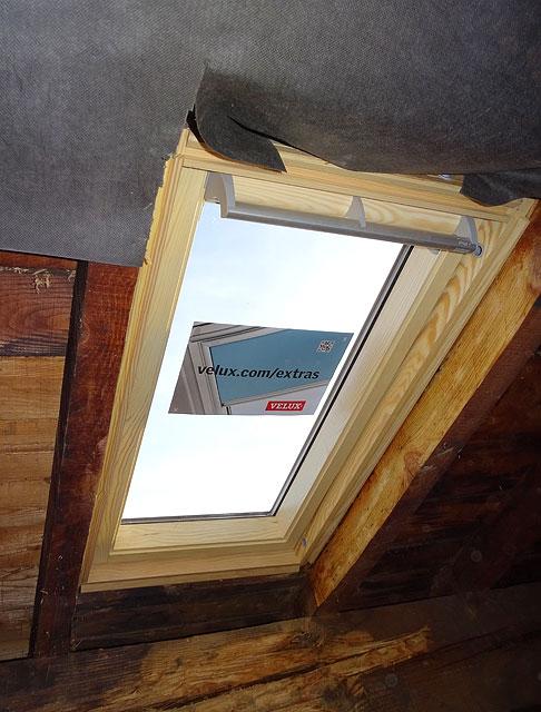 fenetre de toit rénovation