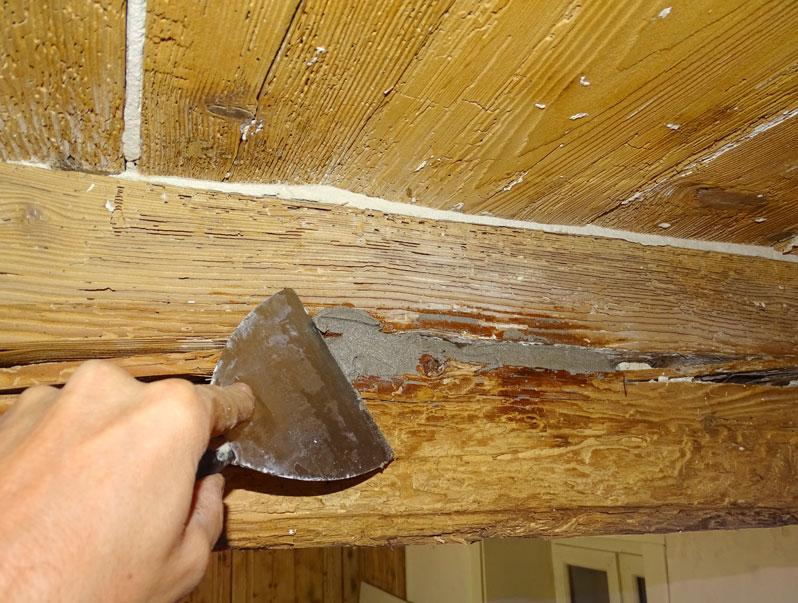 Auto Financement Maison >> Réparation poutre endommagée en rénovation maison