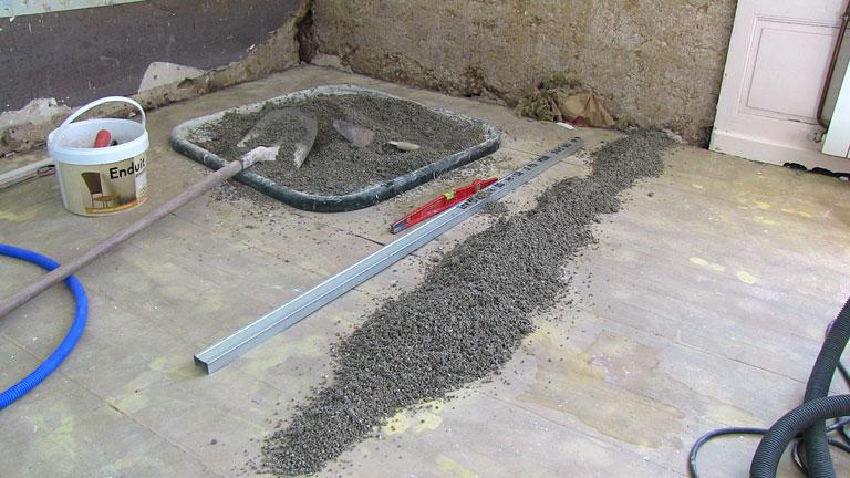 dalle légère vermiculite